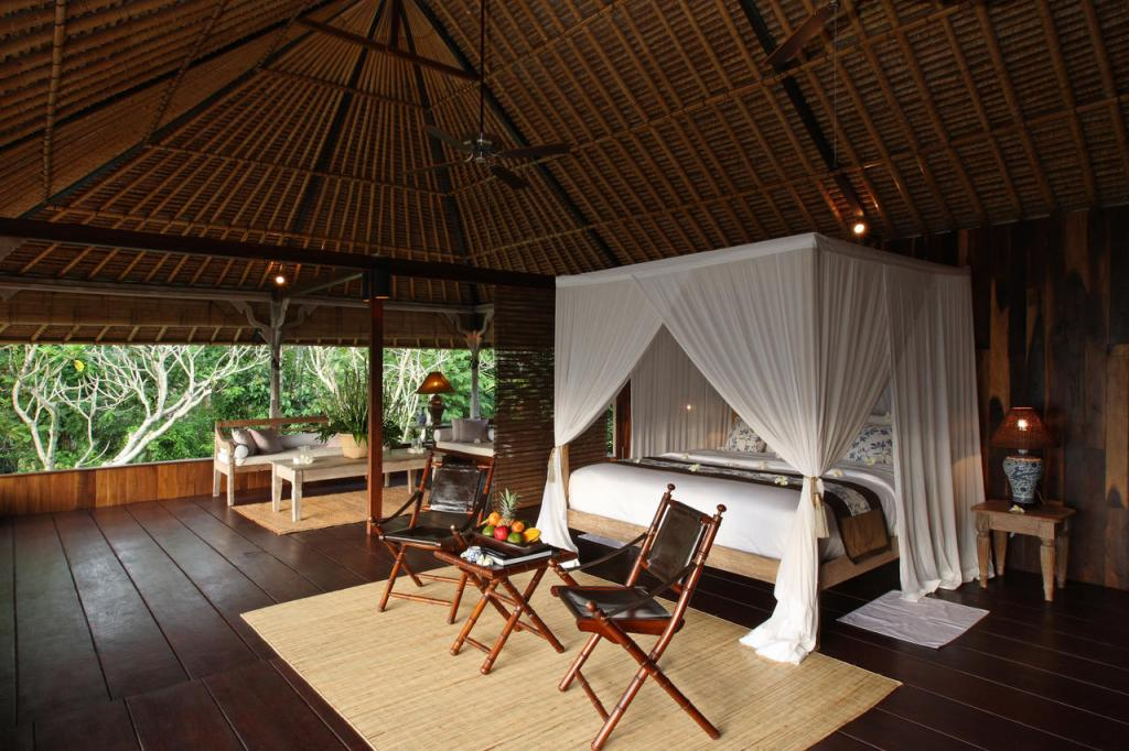 Villa Shambala Bedroom - Private Villa Luxurious in Ubud