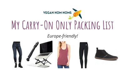 My Carry-On Only Packing List (Europe Friendly)