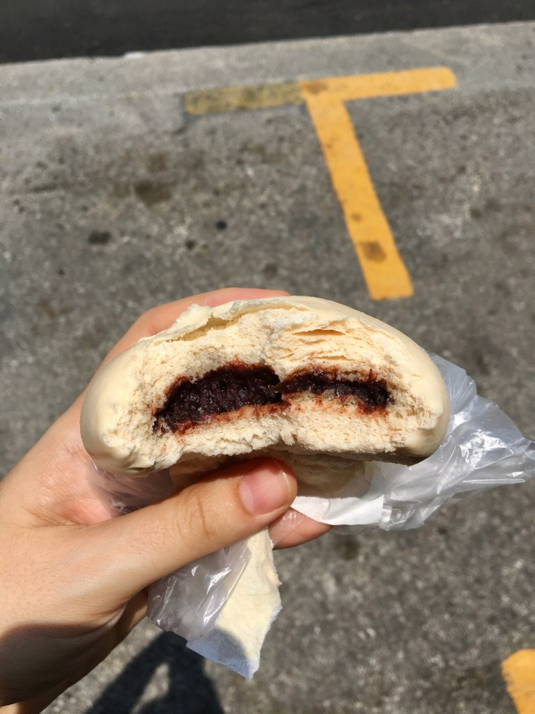 red bean bao in penang
