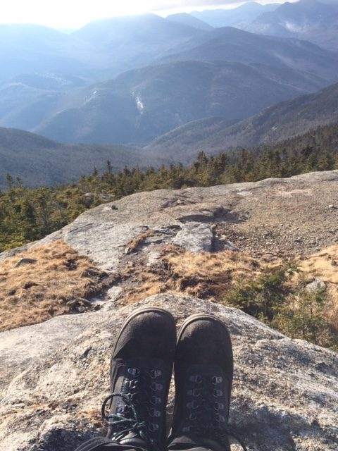 vegan hiking boots in the Adirondack High Peaks