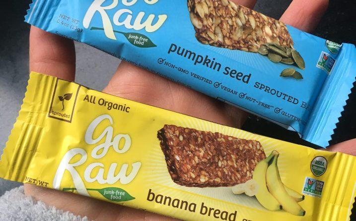 GoRaw Banana Bread Sprouted Bars [photo by Kristin Wuhrman]