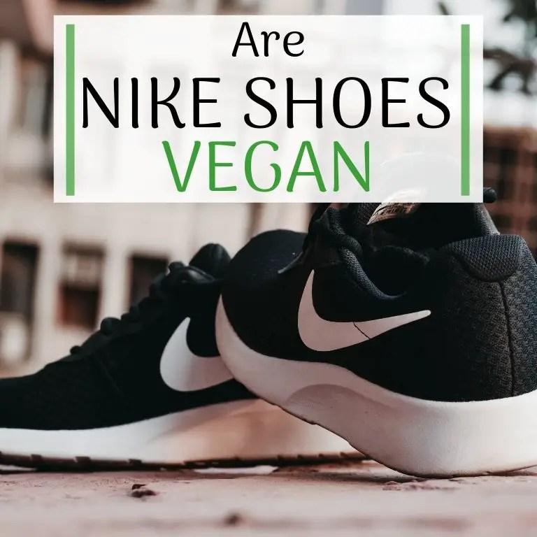 Vegan Nike Air Force 1