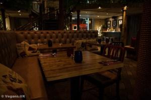 Ushas dining area
