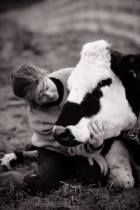 Cows are friends, not milk machines