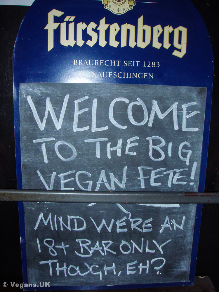 The Big Vegan Fete