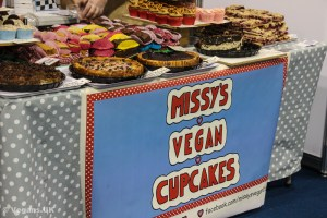 Local business, Missy's Vegan Cupcakes.