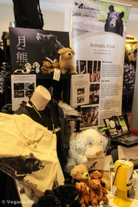 Plenty of stuff on the Animals Asia stand!