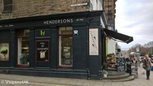Henderson's Deli, on the corner of Hanover Street