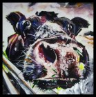 can I b ur PET acrylic on canvas 90x90 (Small)