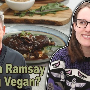 Gordon Ramsay Shows Us A Sad Vegan Steak