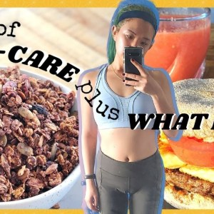 WHAT I EAT IN A DAY (VEGAN) + LAZY PRODUCTIVE DAY IN MY LIFE