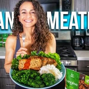 Easy High-Protein VEGAN Meatloaf | Gluten-Free