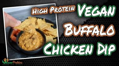 High Protein Vegan Buffalo Chicken Dip