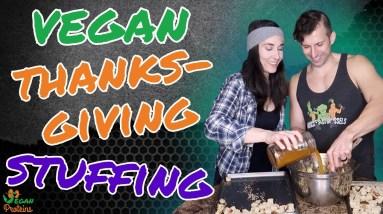 Vegan Apple Sage Sausage Thanksgiving Stuffing | Vegan Proteins