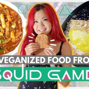 Making Food from SQUID GAME…VEGAN!