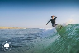 Surfing in Moliets VSC