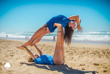Beach Yoga Vegan Surf Camp