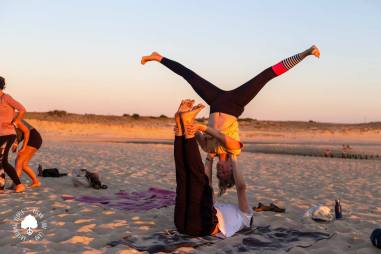 Kids Beach Acroyoga