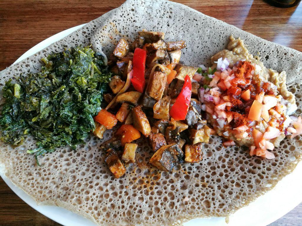 Vegan Ethiopian Dish