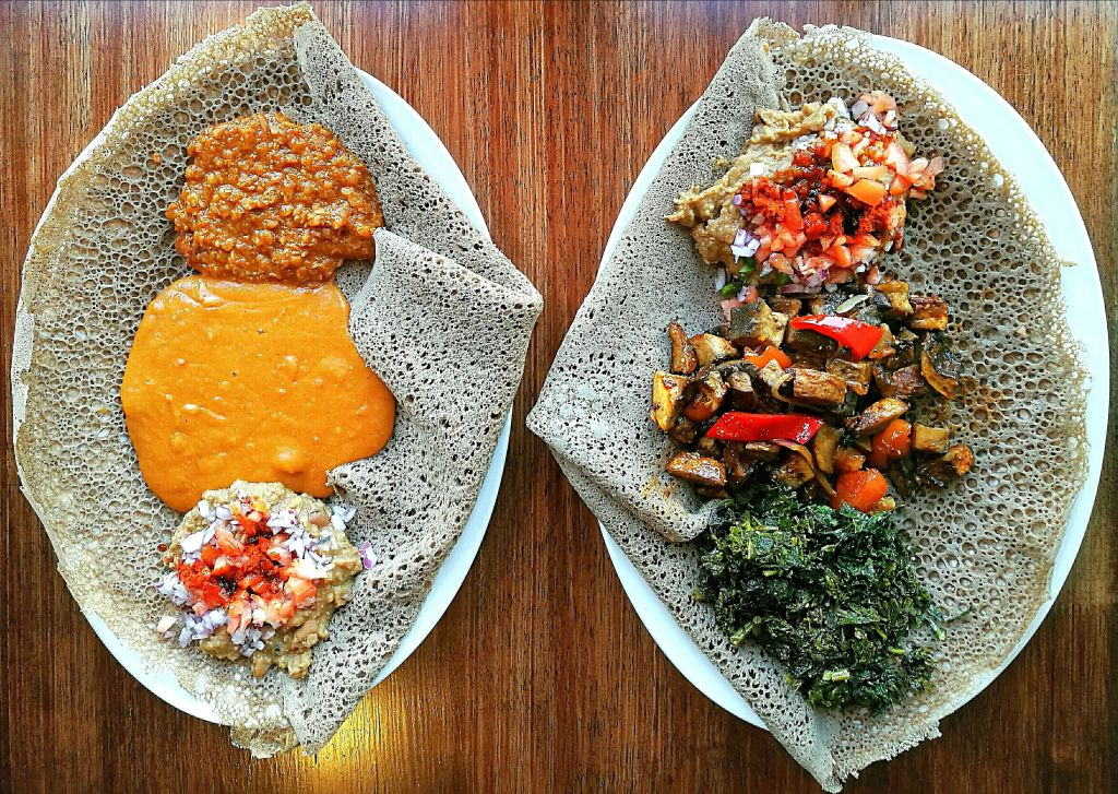 Vegan Ethiopian Food