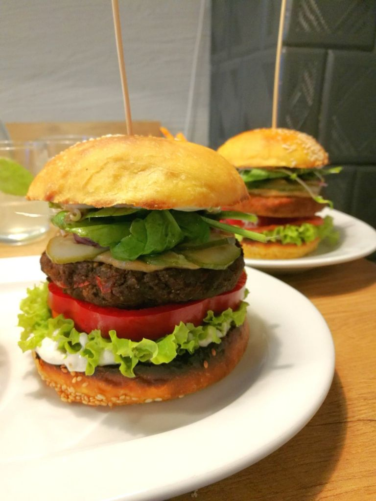 Two Vegan Burgers