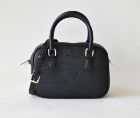 Angela Roi black vegan purse