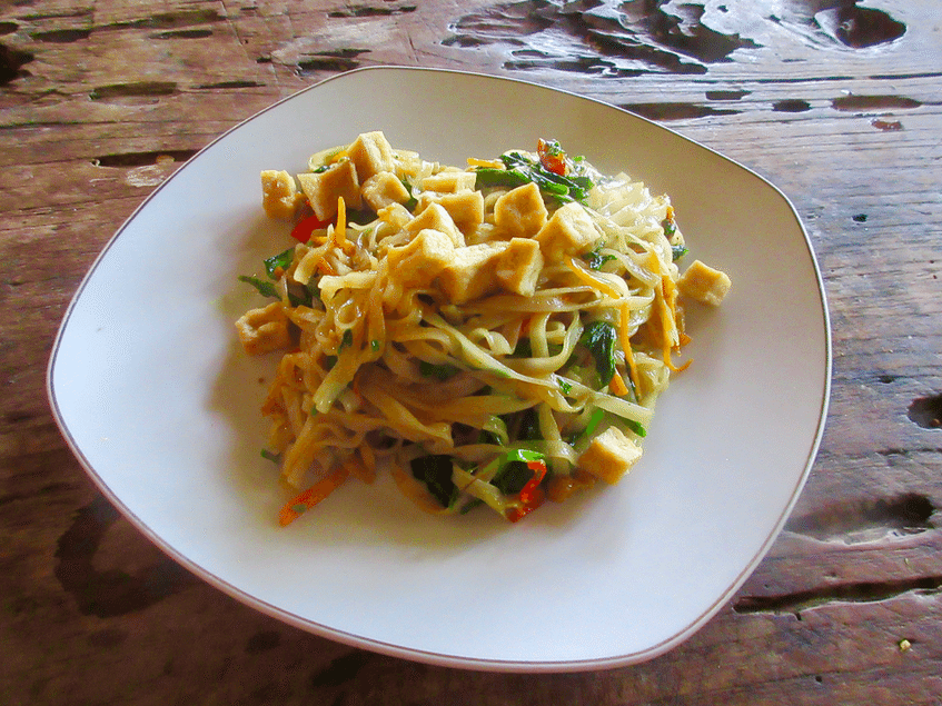 Plate of Mie Goreng