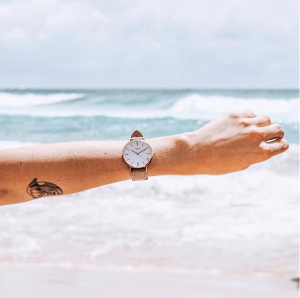 TIVC watch at the beach