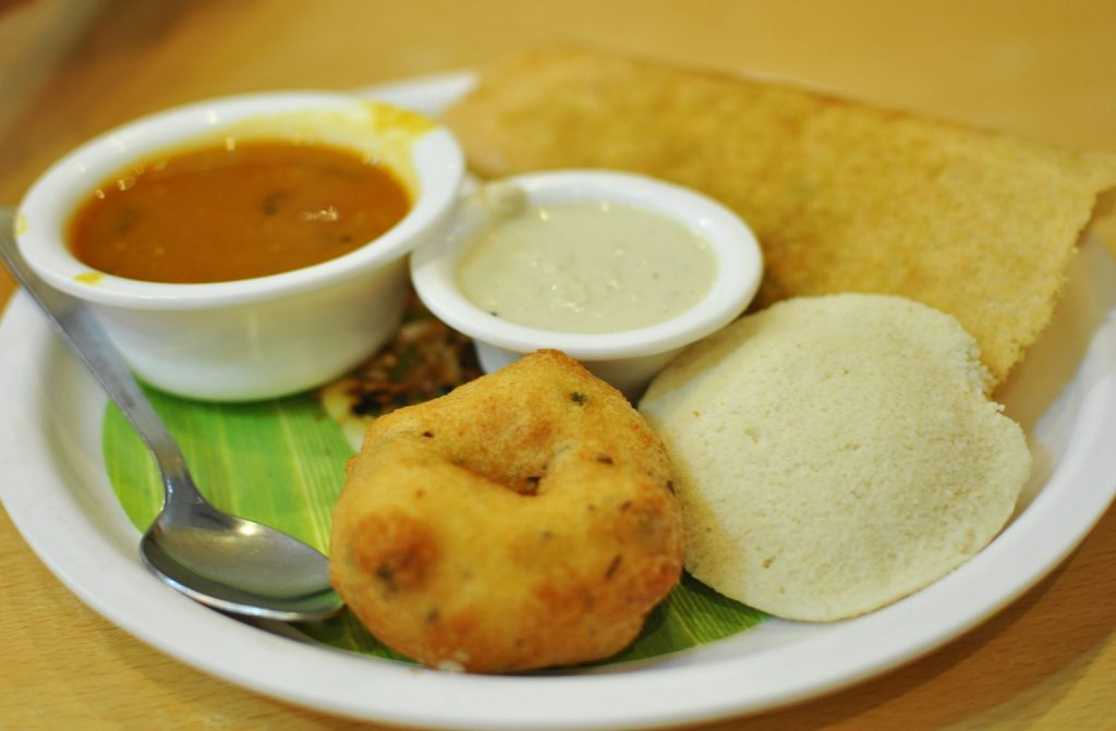 Indian food in Georgetown, Penang
