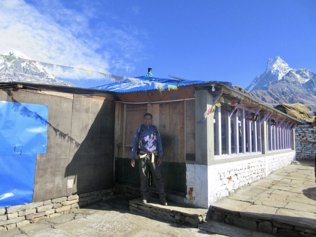 Mardi Himal Guide at High Camp