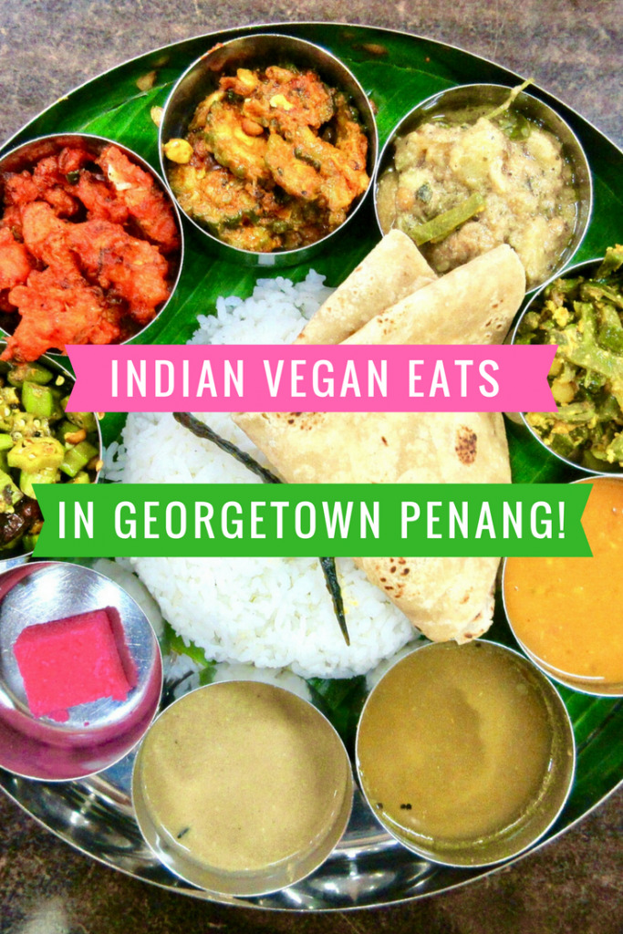 Indian food in Georgetown, Penang