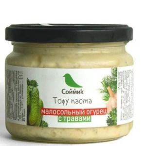 """Тофу-паста """"малосольный огурец"""" Соймик"""