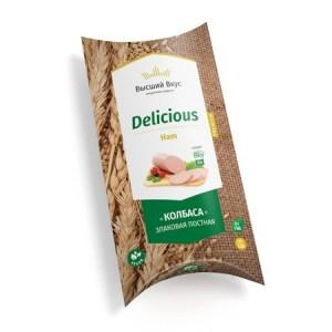Веганская колбаса «Delicious HAM» Высший Вкус
