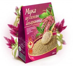 """Мука из семян амаранта """"Специалист"""", 200г"""