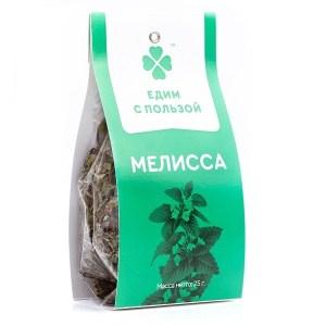 """Мелисса листья """"Едим с пользой"""", 25 гр"""