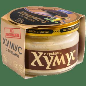 """Хумус с грибами """"Тайны Востока"""", 200 гр"""