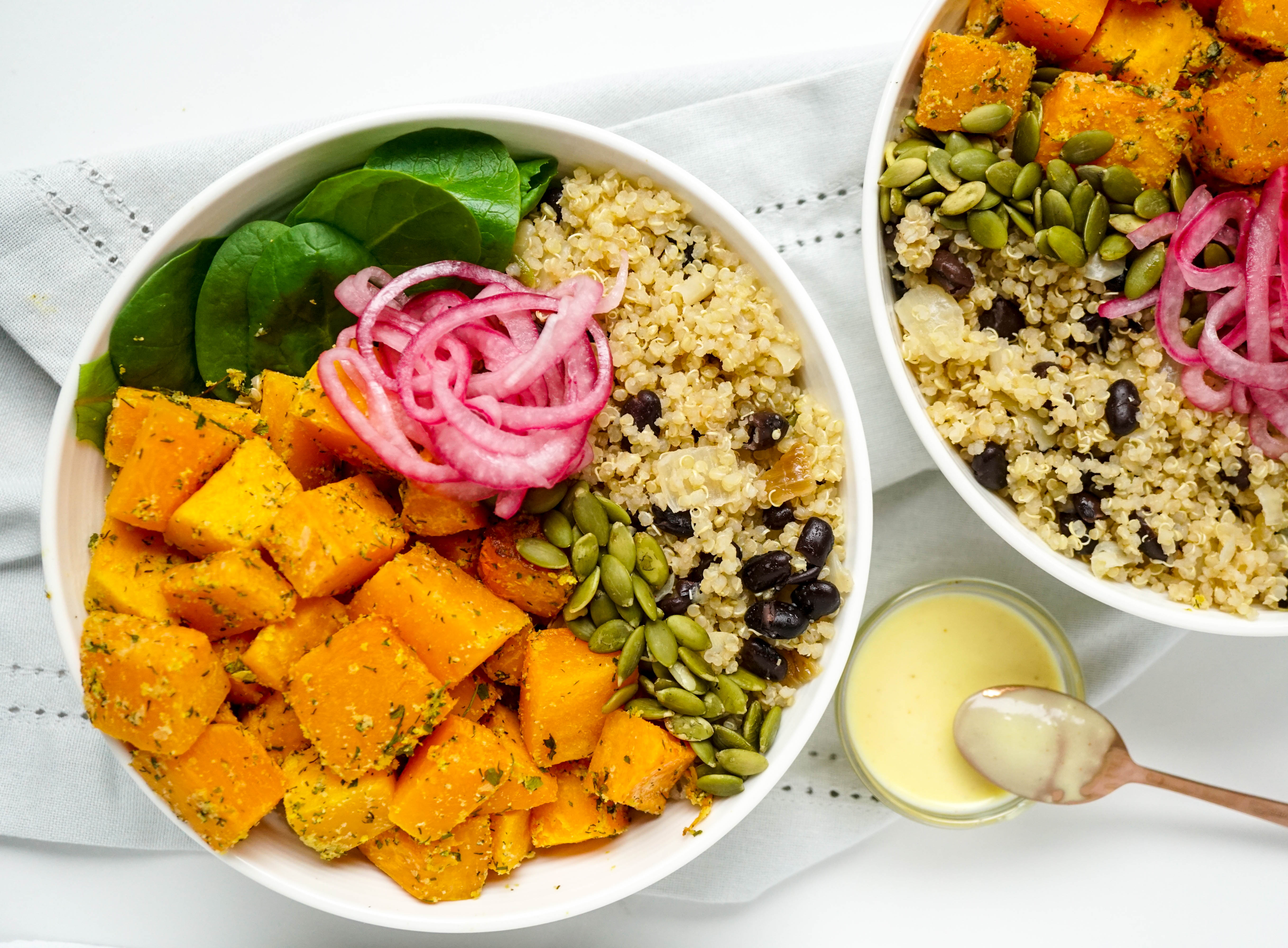 Ranch Roasted Butternut Bowl