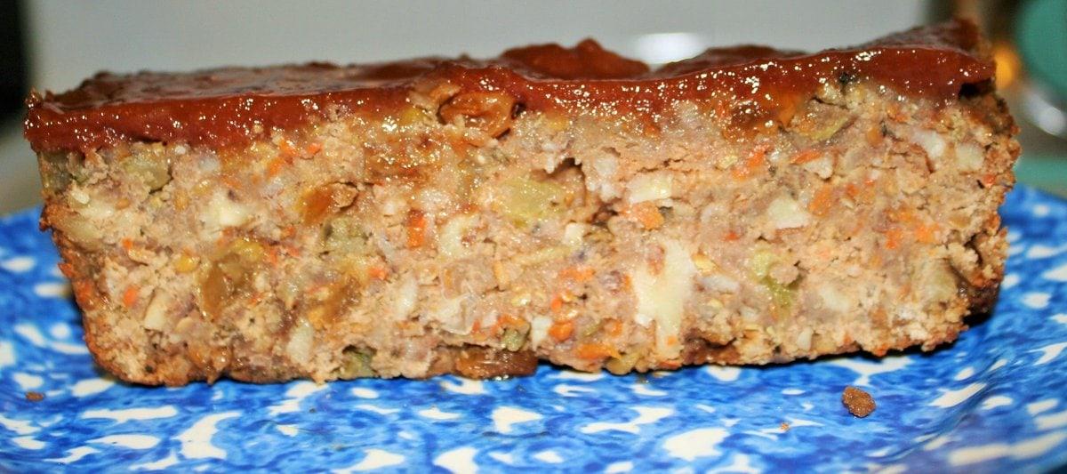 Red Lentil Walnut Loaf