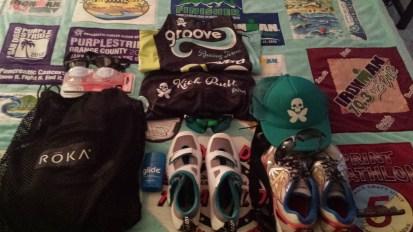 Swim, bike, run attire