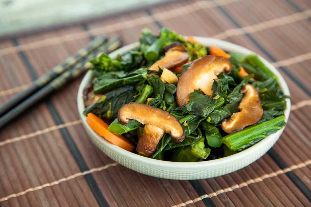 Healthy delicious malaysian kailan vegan yack attack malaysian kailan stirfry forumfinder Images