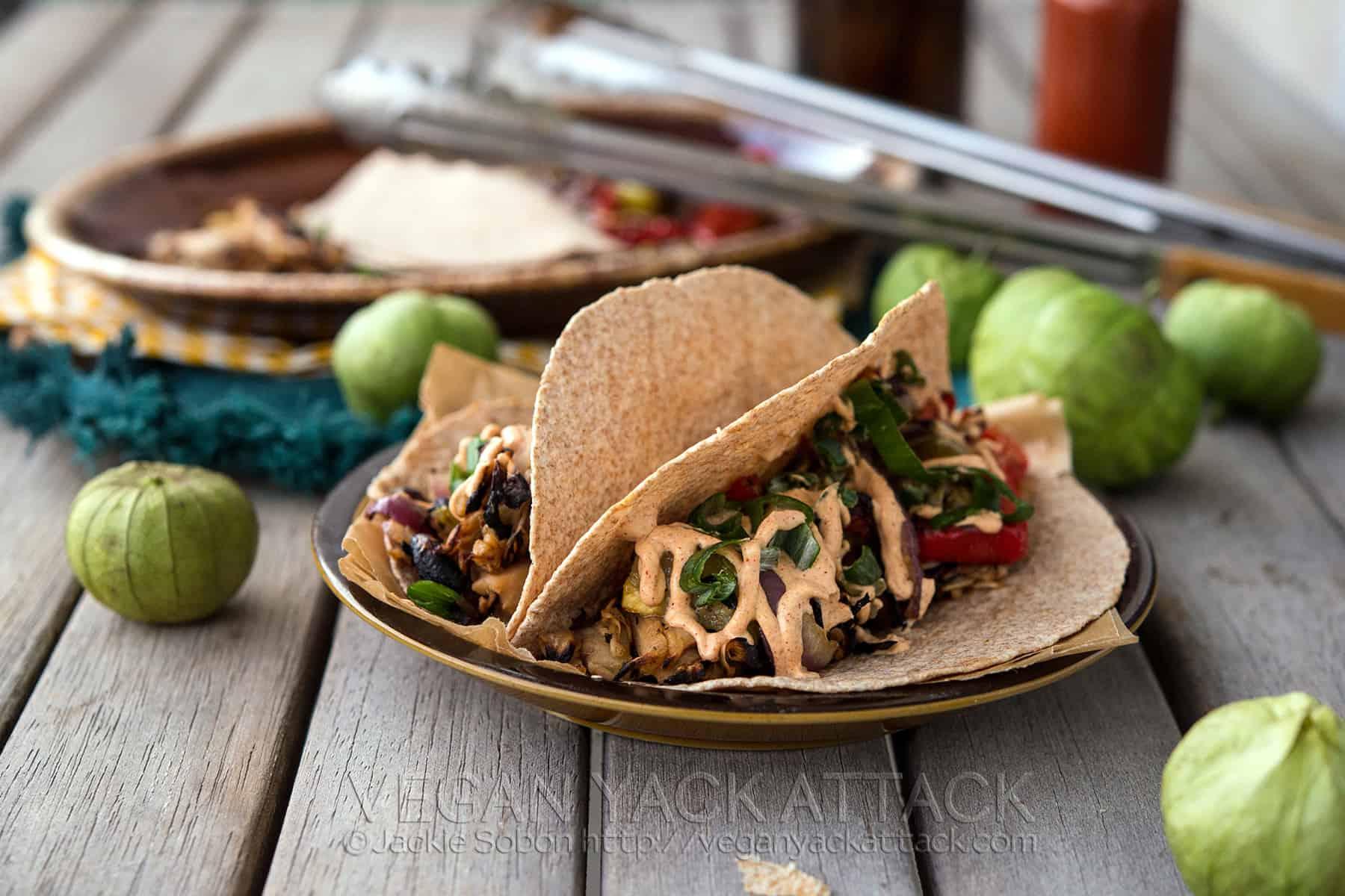 Beefy Jackfruit Tacos