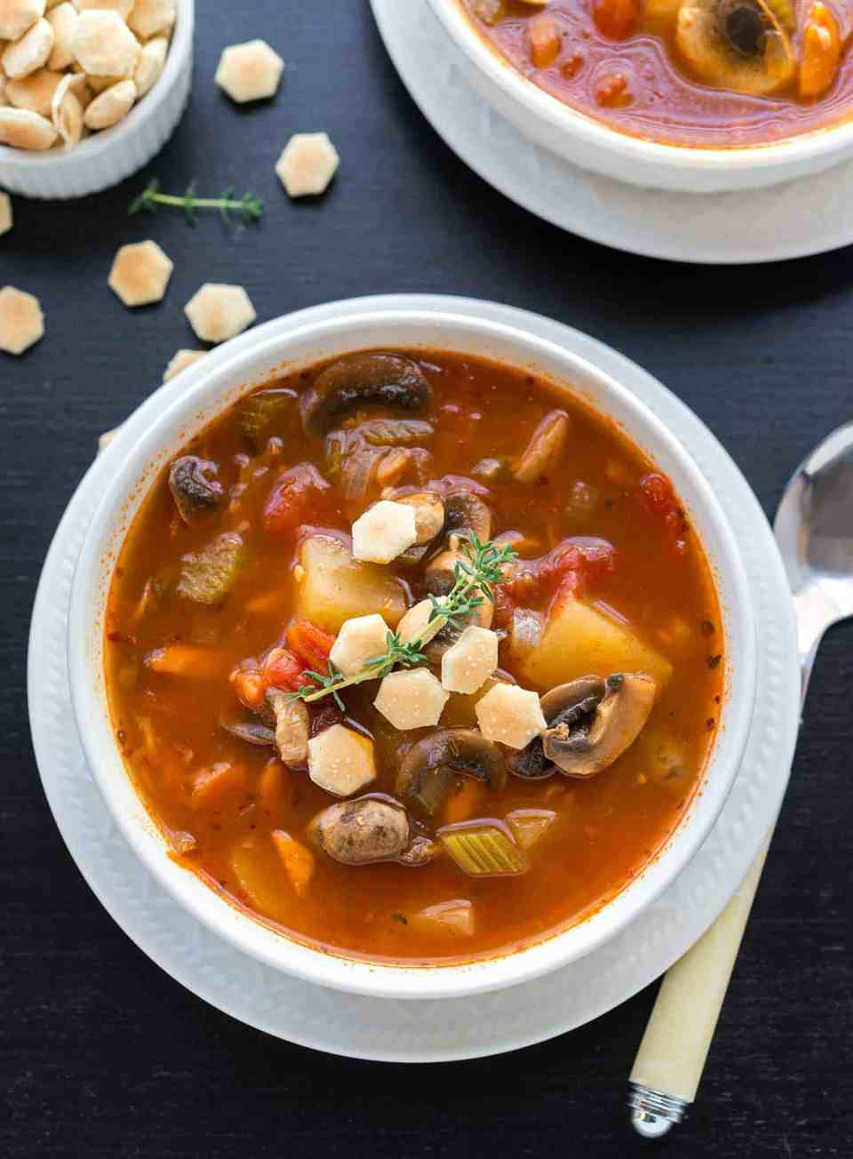 Manhattan Glam Chowder from NYC Vegan Cookbook
