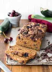 Cherry Chocolate Zucchini Bread