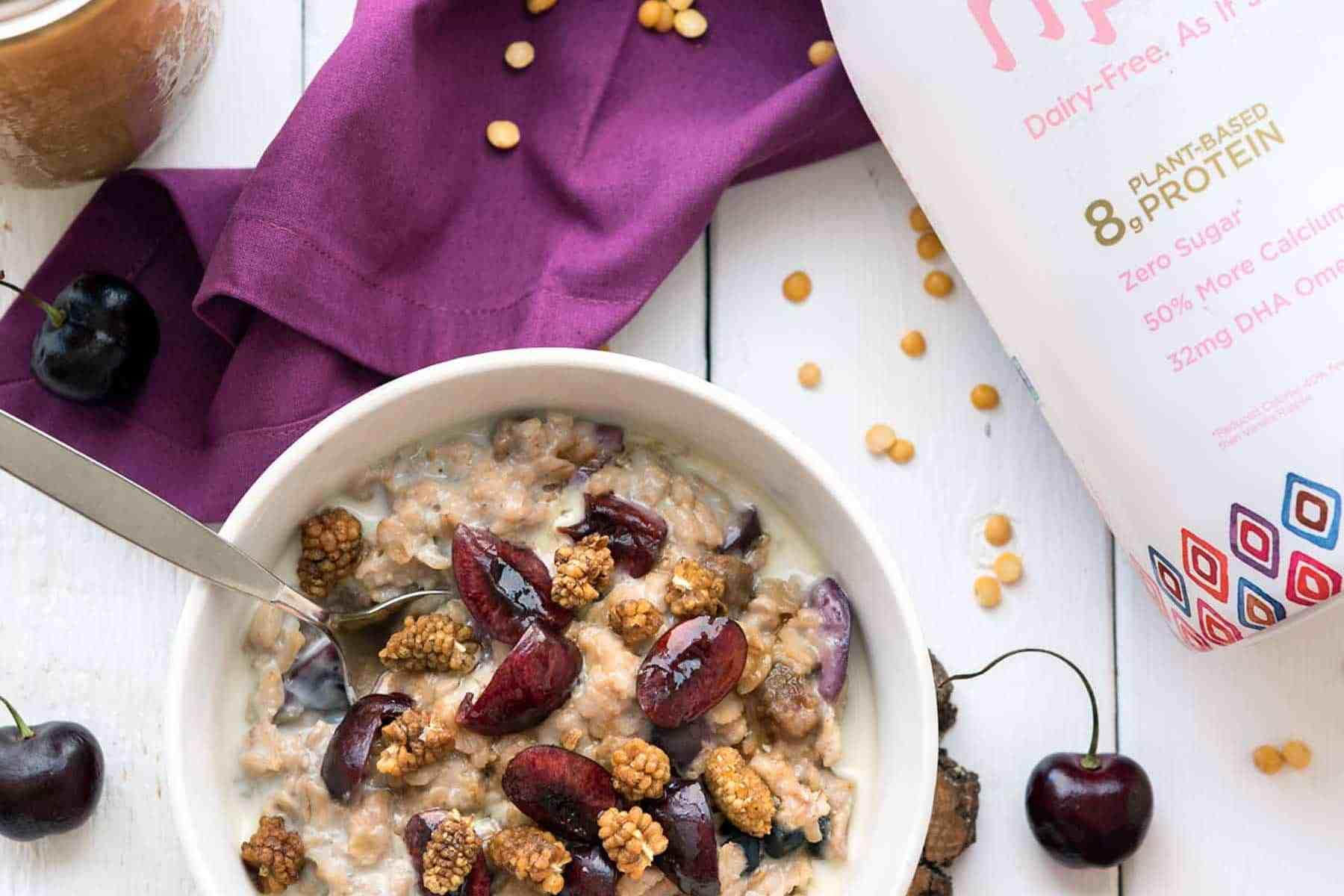 New Product Review! Unsweetened Vanilla Ripple Pea Milk - High in protein, zero sugar, and allergy-friendly! #vegan #soyfree #nutfree #ripplefoods #dairyfreedom