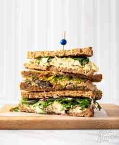 Tofu Egg Salad Sandwich - Three Ways!