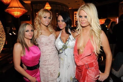 Lexi Love, Anglenia Armani, Mariah Milano and Alexis Ford at LAVO