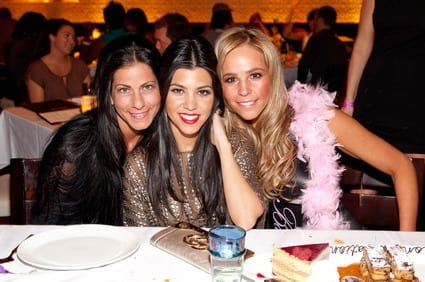 Kourtney Kardashian and friends.