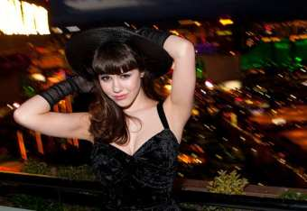 Claire Sinclair at Foundation Room