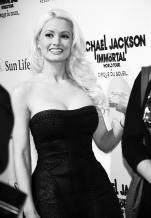 Holly Madison at Michael Jackson THE IMMORTAL World Tour