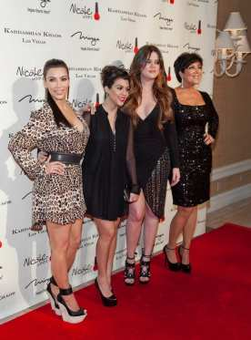 Kardashian Khoas Grand Opening at The Miarge in Las Vegas, NV on December 15, 2011